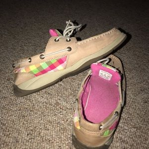 Sherry's boat shoes
